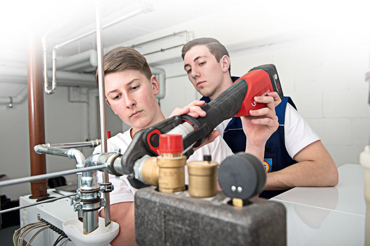 Stellenanzeige Ausbildung Anlagenmechaniker